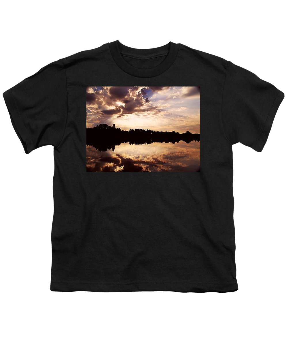 Sunrise Youth T-Shirt featuring the photograph Glorious Moments by Gaby Swanson