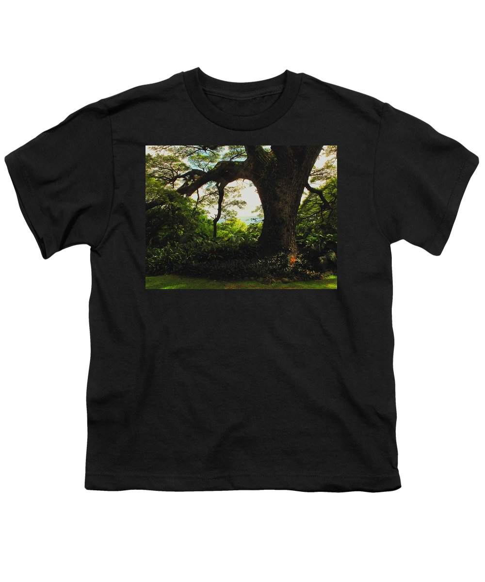 Tropical Youth T-Shirt featuring the photograph Green Giant by Ian MacDonald