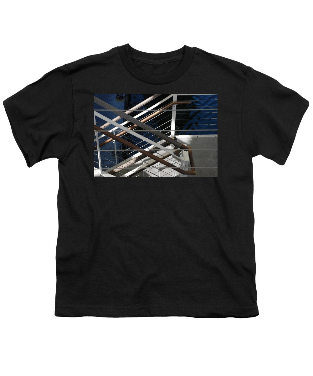 Water Youth T-Shirt featuring the photograph Hand Rails by Rob Hans