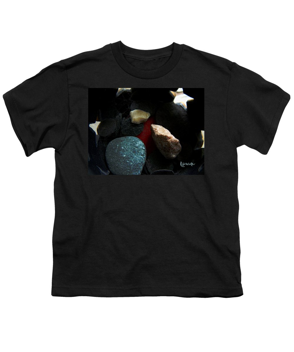 Rocks Youth T-Shirt featuring the photograph Heart Of Stone by RC DeWinter