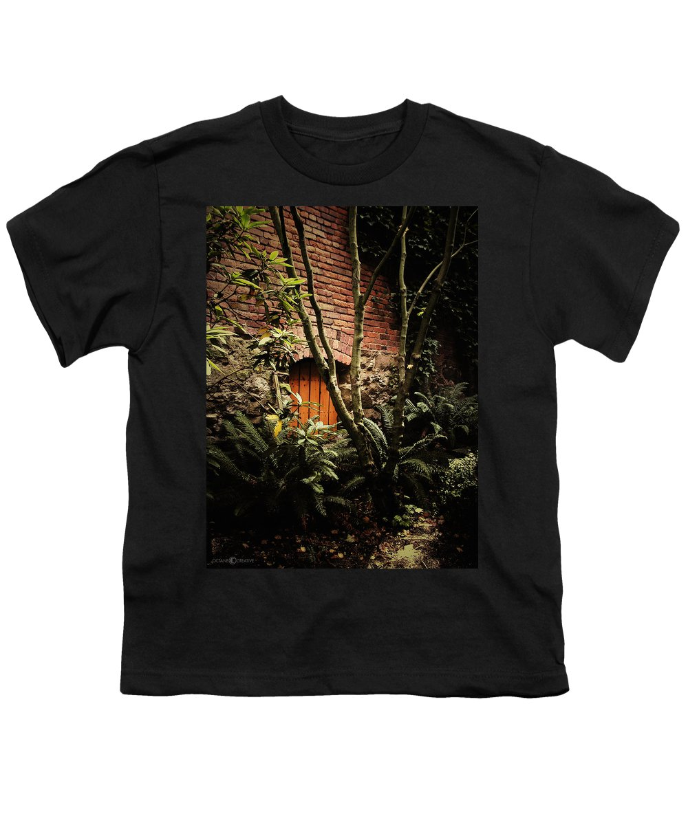Brick Youth T-Shirt featuring the photograph Hidden Passage by Tim Nyberg