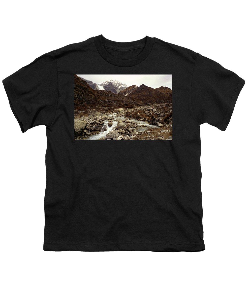 Himalaya Youth T-Shirt featuring the photograph Himalaya by Patrick Klauss