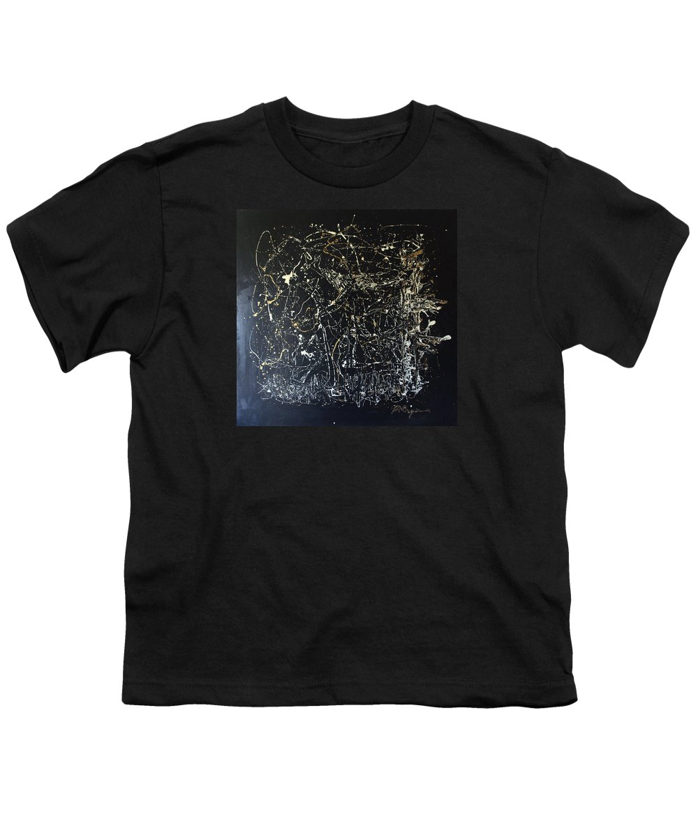 Horse In Pasture Youth T-Shirt featuring the mixed media Horse In Pasture by J R Seymour