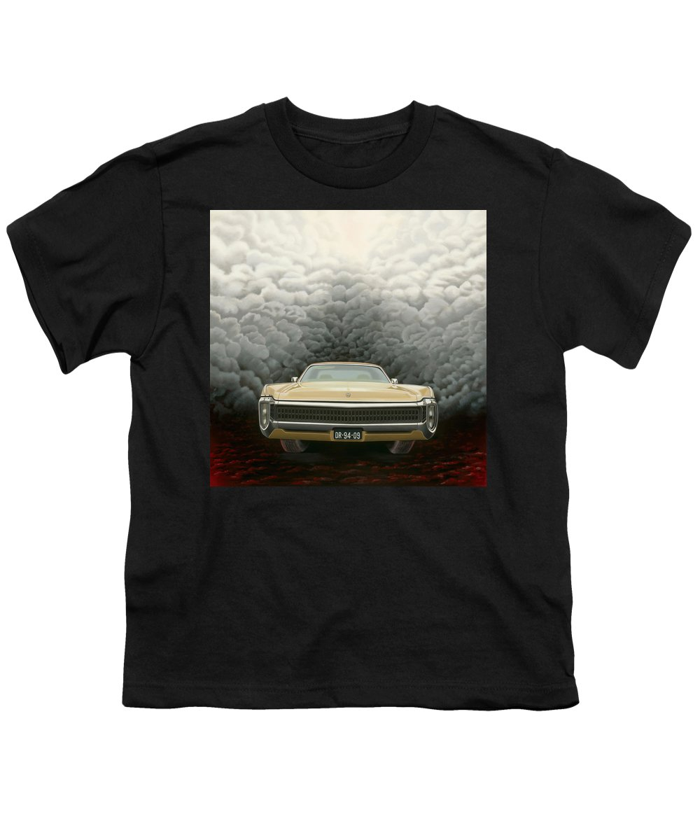 Surreal Youth T-Shirt featuring the painting Imperial by Patricia Van Lubeck