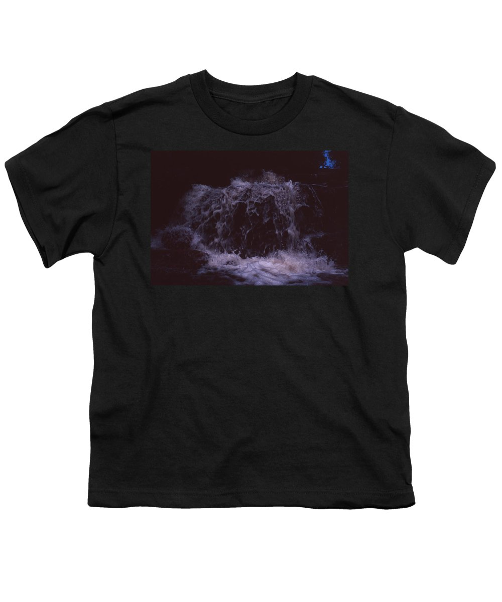 Bahia Youth T-Shirt featuring the photograph In A Bahian Waterfall by Patrick Klauss