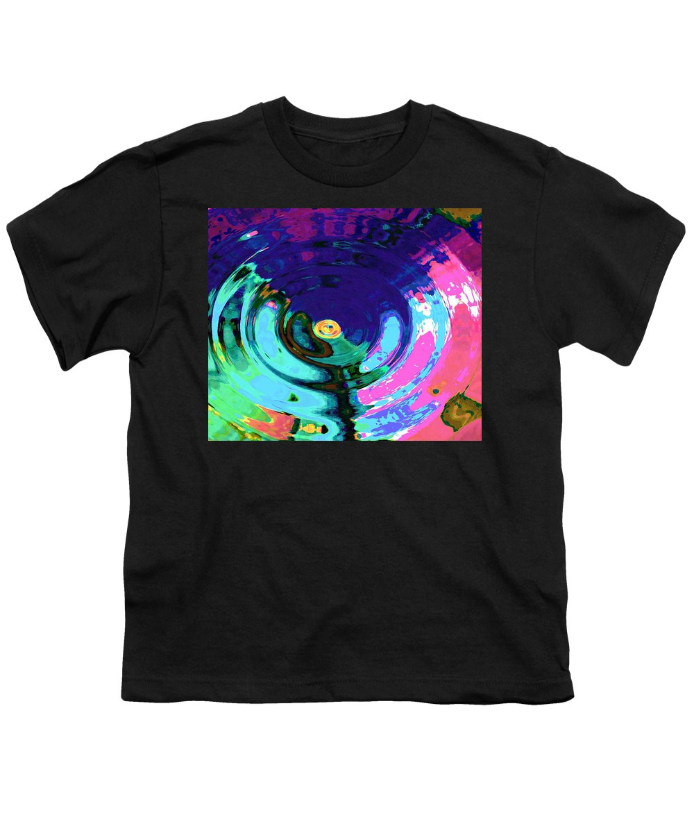 Blue Youth T-Shirt featuring the digital art Infinity by Natalie Holland