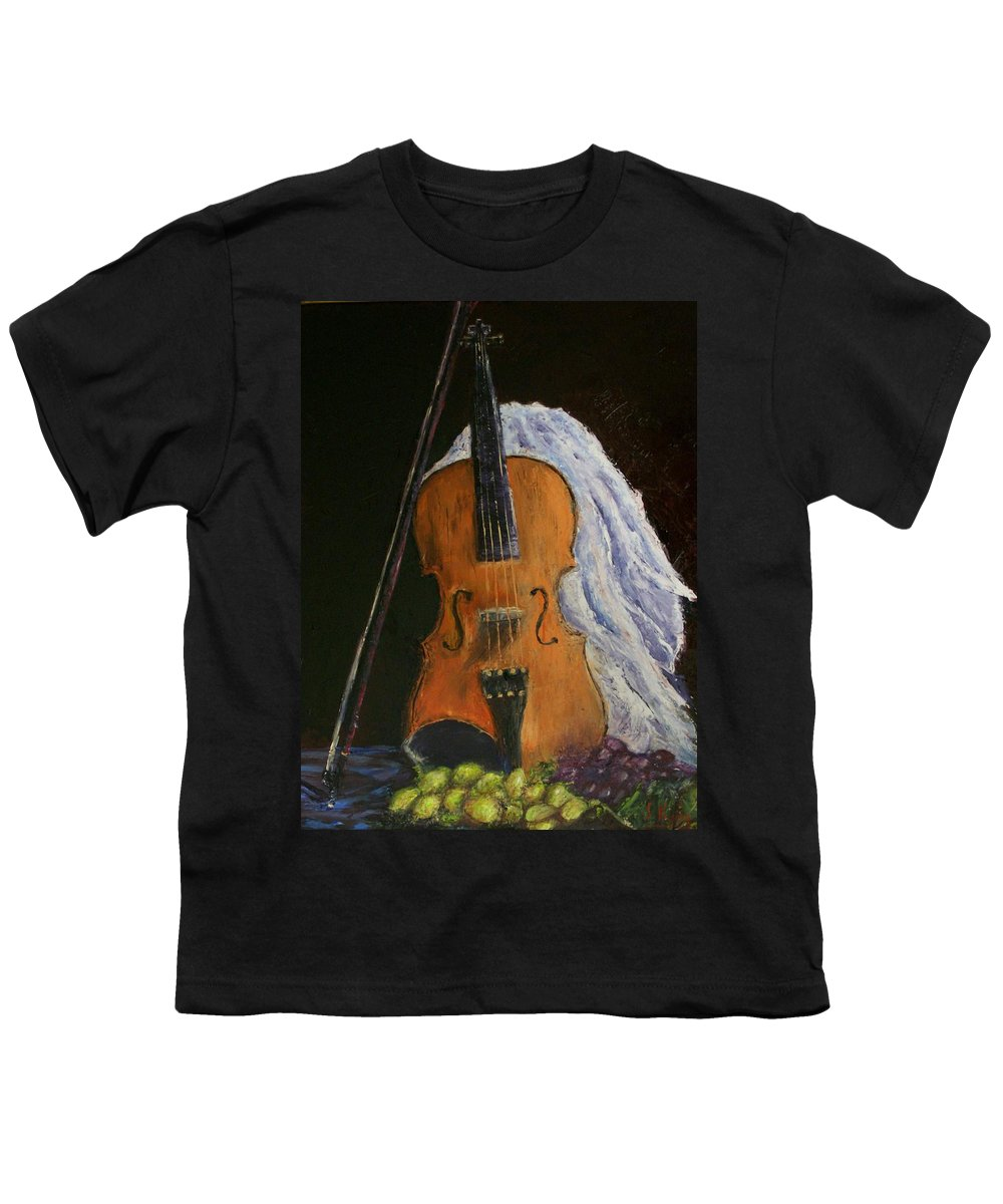 Original Youth T-Shirt featuring the painting Intermission by Stephen King