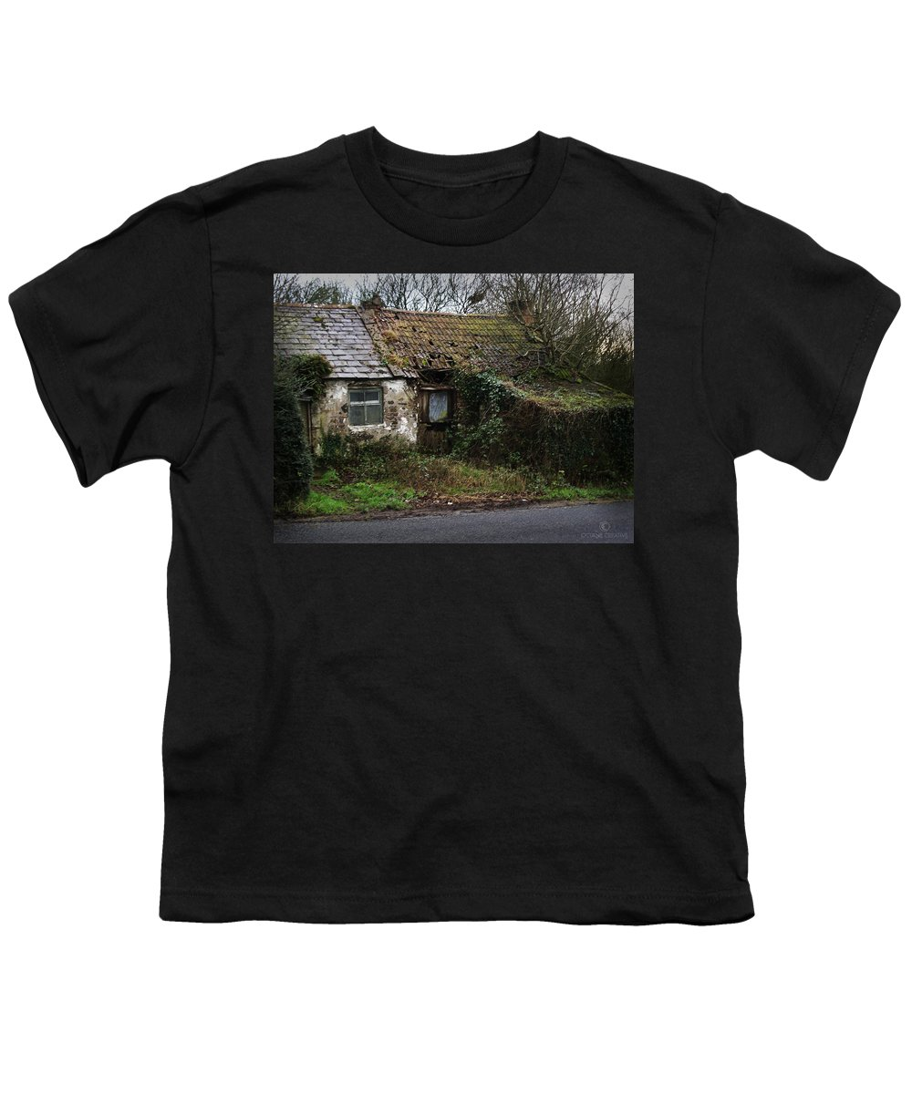 Hovel Youth T-Shirt featuring the photograph Irish Hovel by Tim Nyberg