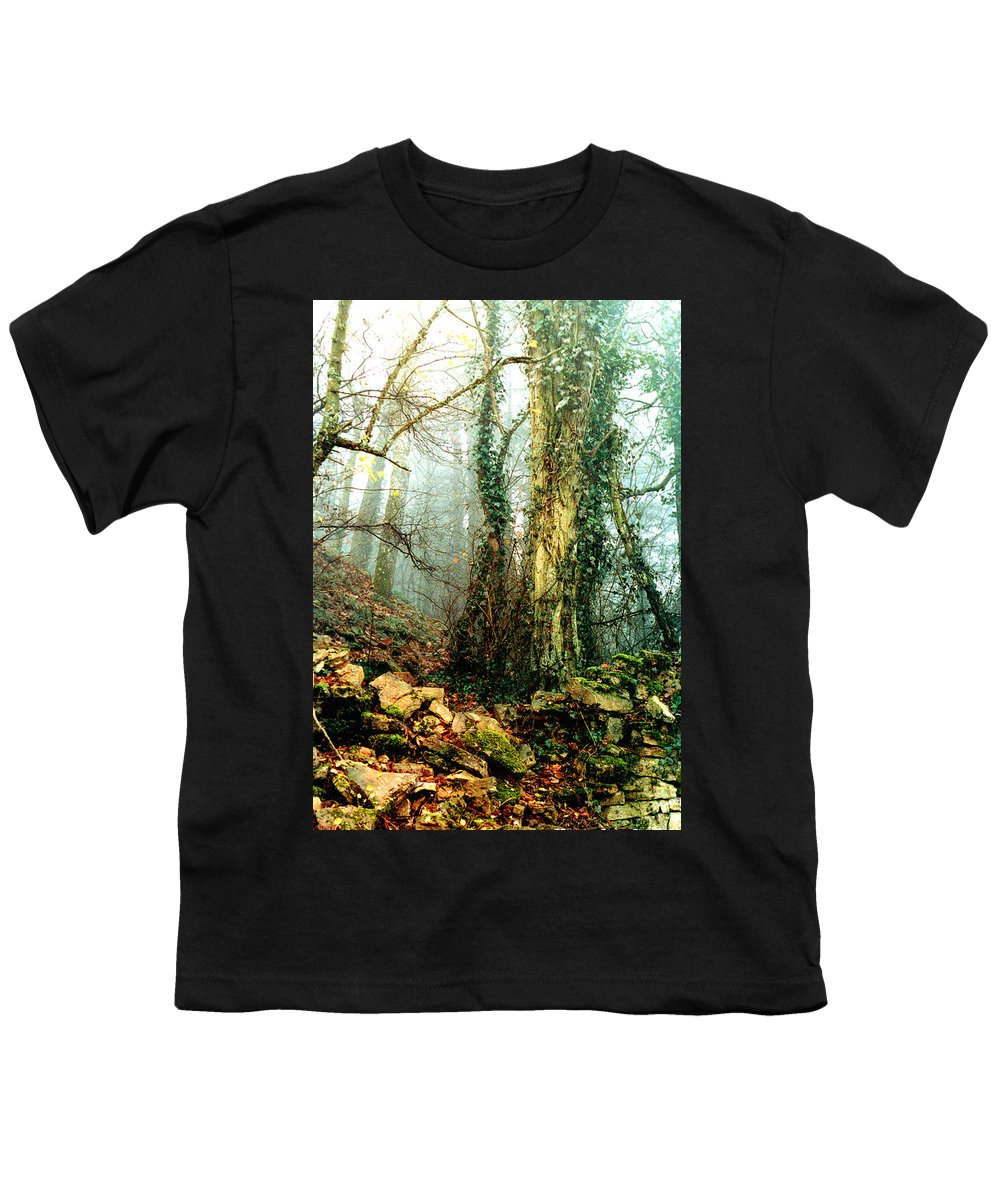 Ivy Youth T-Shirt featuring the photograph Ivy In The Woods by Nancy Mueller