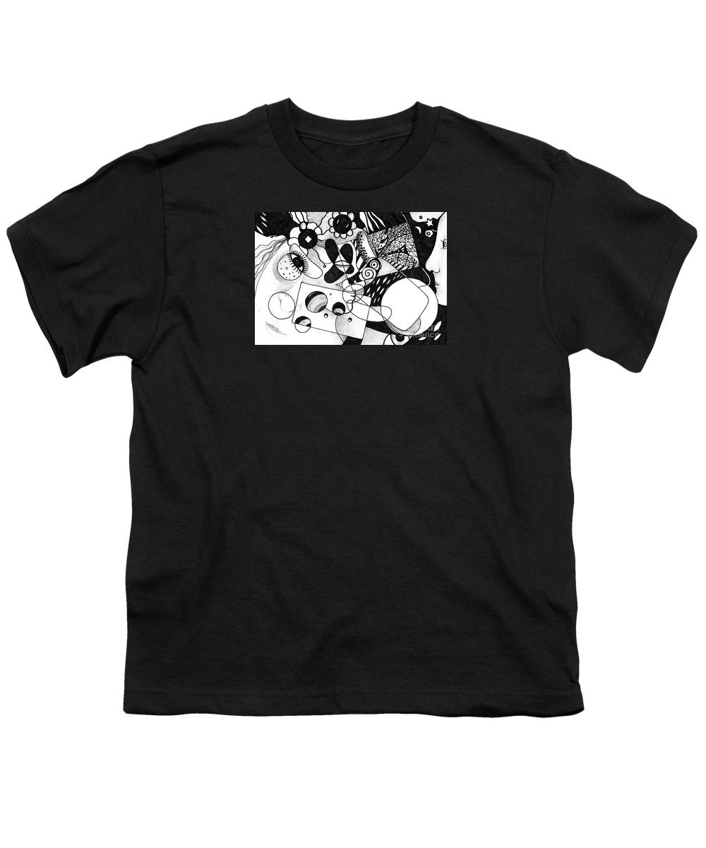 Organic Abstraction Youth T-Shirts