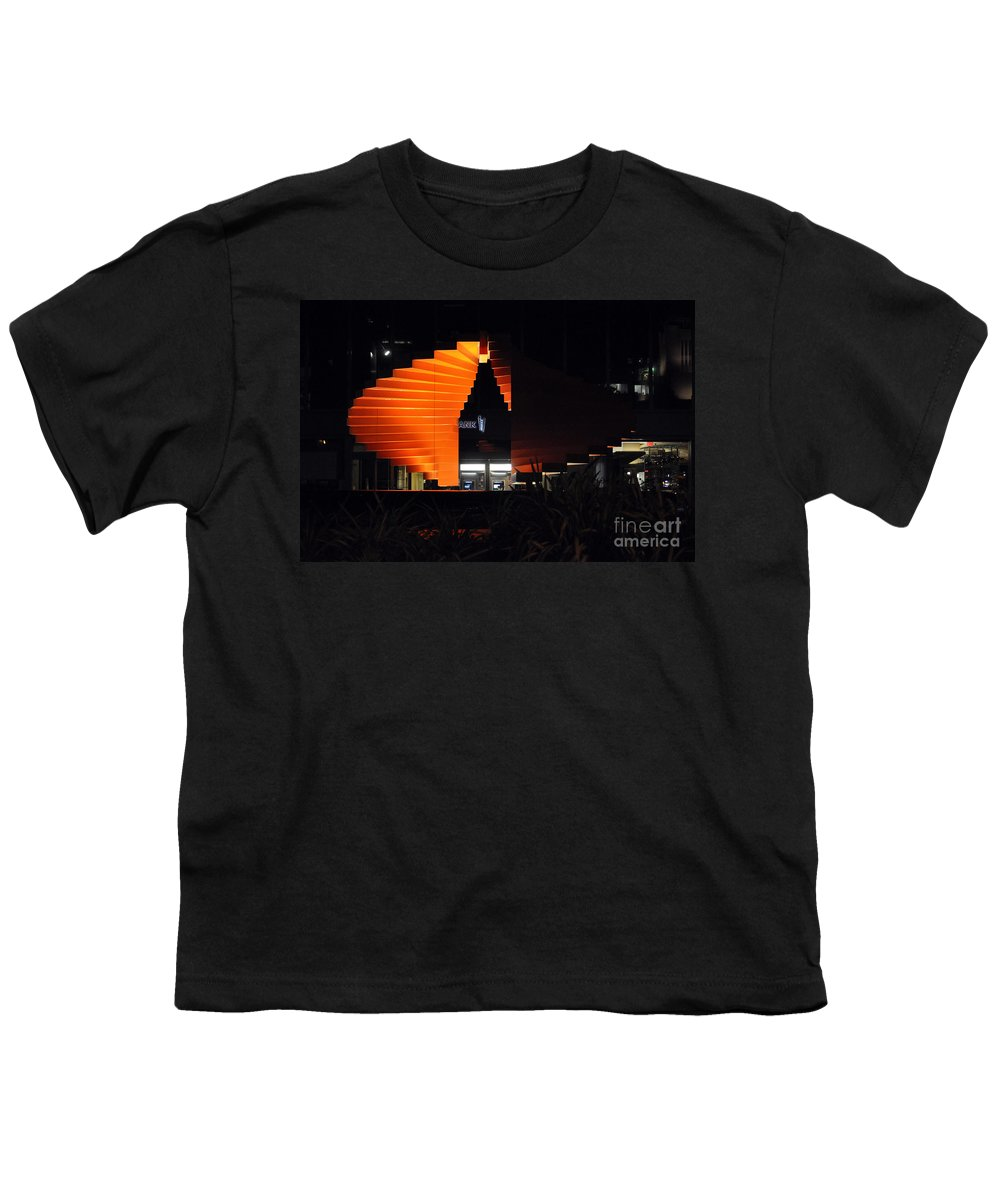 Clay Youth T-Shirt featuring the photograph L.a. Nights by Clayton Bruster