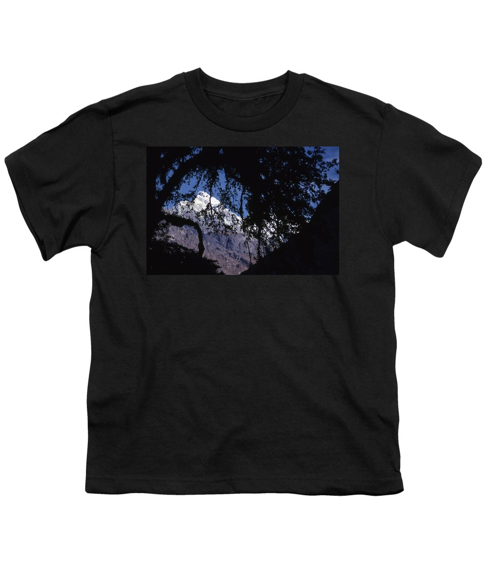 Langtang Youth T-Shirt featuring the photograph Langtang by Patrick Klauss