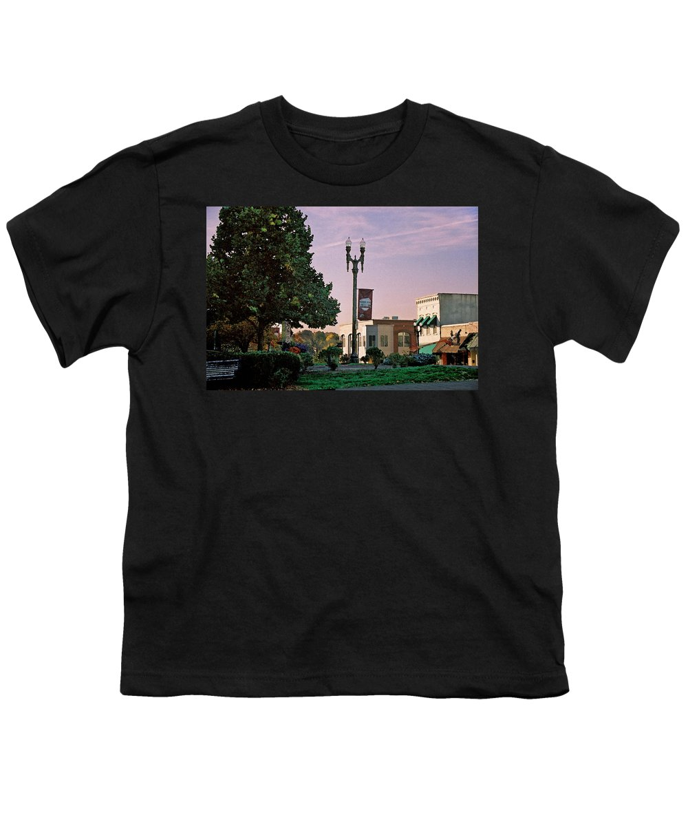 Landscape Youth T-Shirt featuring the photograph Late Sunday Afternoon by Steve Karol