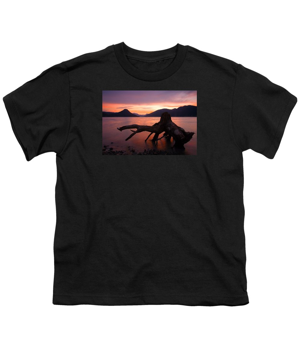 Stump Youth T-Shirt featuring the photograph Left Behind by Mike Dawson