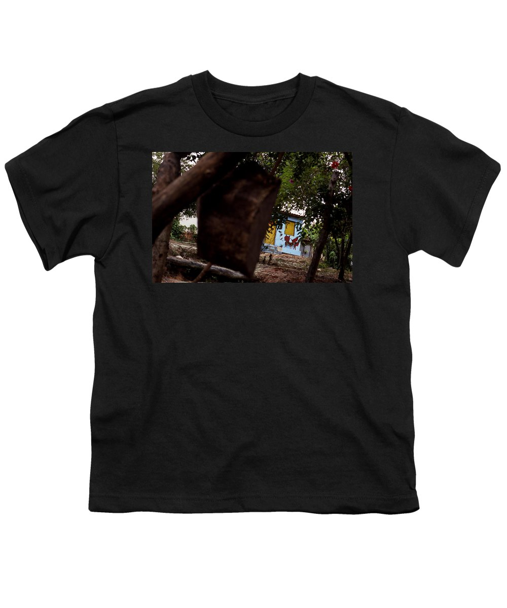 Dog Youth T-Shirt featuring the photograph Lencois - Dog by Patrick Klauss