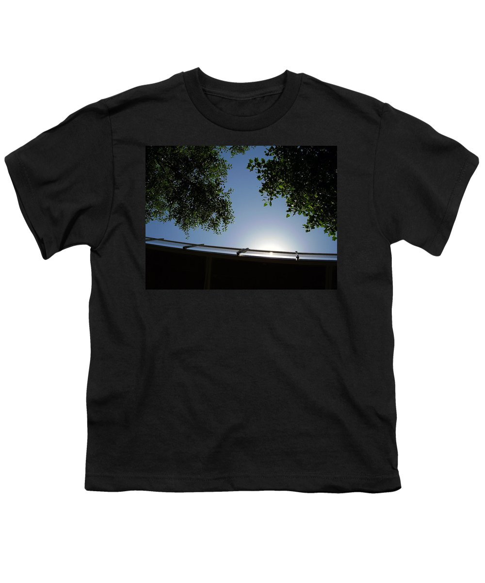 Liberty Bridge Youth T-Shirt featuring the photograph Liberty Bridge by Flavia Westerwelle