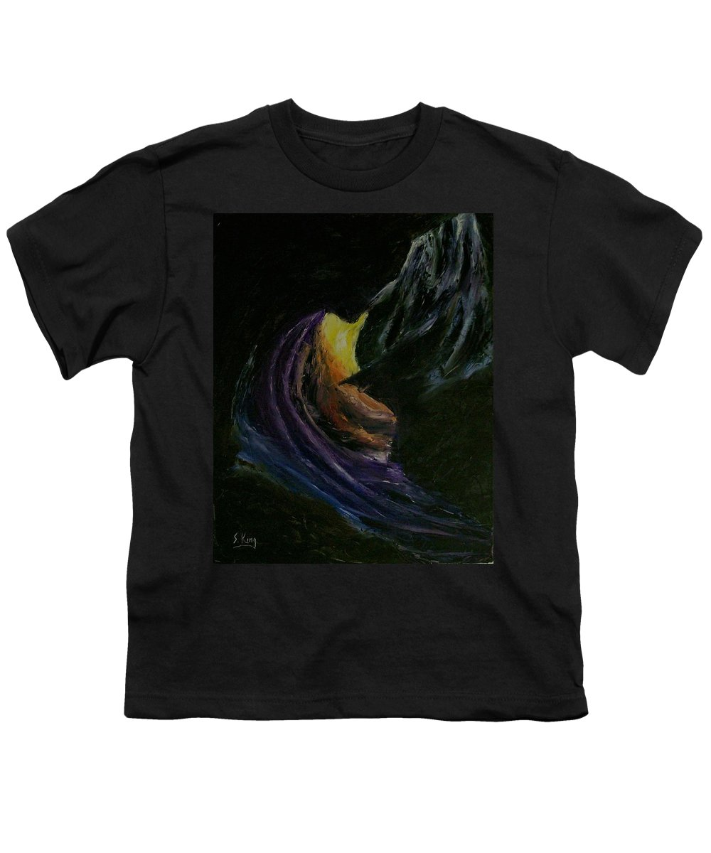 Youth T-Shirt featuring the painting Light Of Day by Stephen King