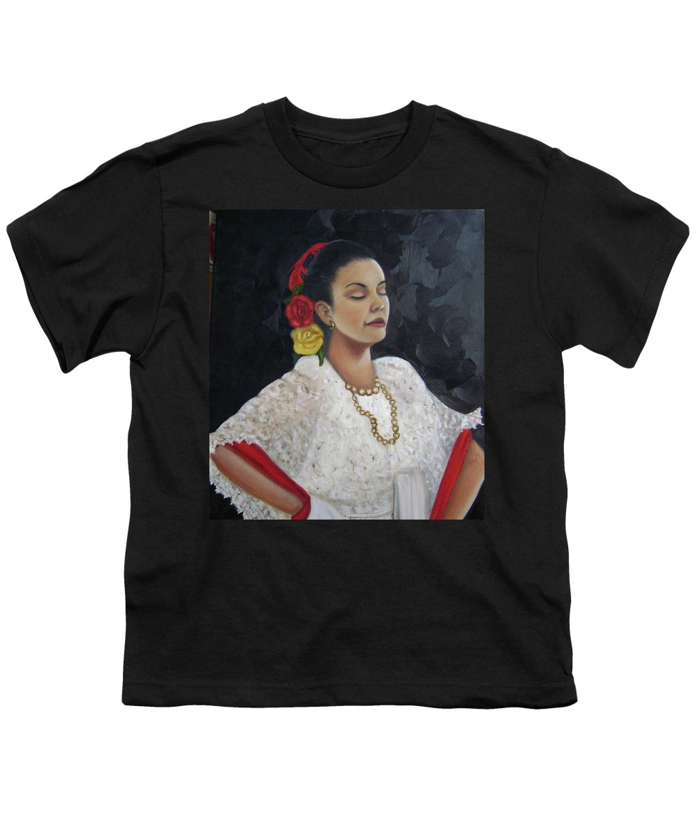 Youth T-Shirt featuring the painting Lucinda by Toni Berry