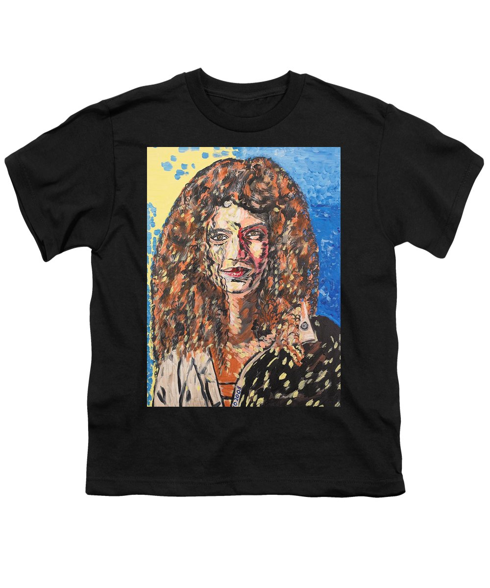 Human Youth T-Shirt featuring the painting Maja by Valerie Ornstein