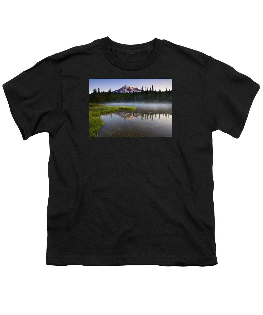 Lake Youth T-Shirt featuring the photograph Majestic Dawn by Mike Dawson