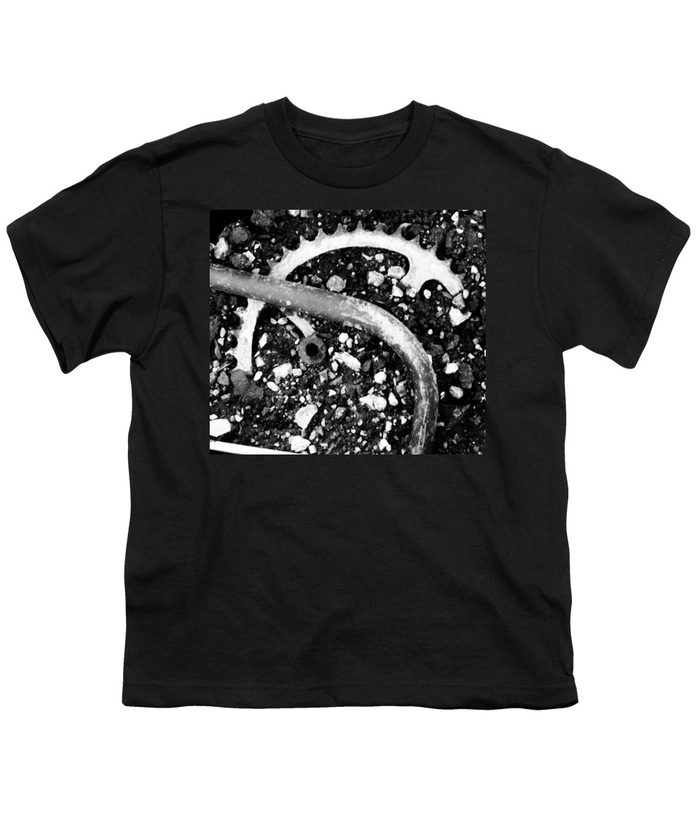 Metal Youth T-Shirt featuring the photograph Metallic Curves by Angus Hooper Iii