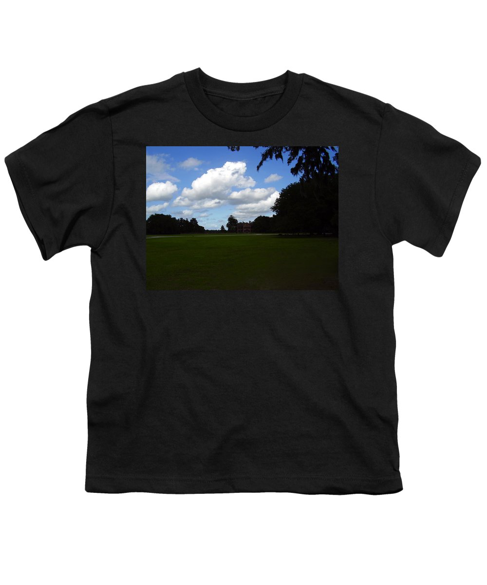 Middleton Place Youth T-Shirt featuring the photograph Middleton Place by Flavia Westerwelle