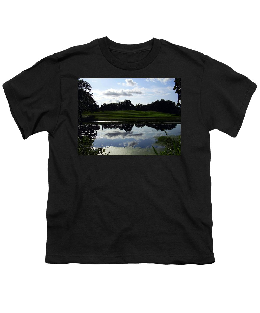 Middleton Place Youth T-Shirt featuring the photograph Middleton Place II by Flavia Westerwelle