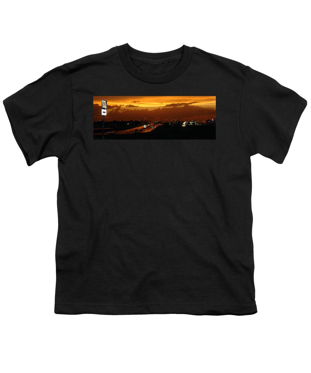 Landscape Youth T-Shirt featuring the photograph Missouri 291 by Steve Karol