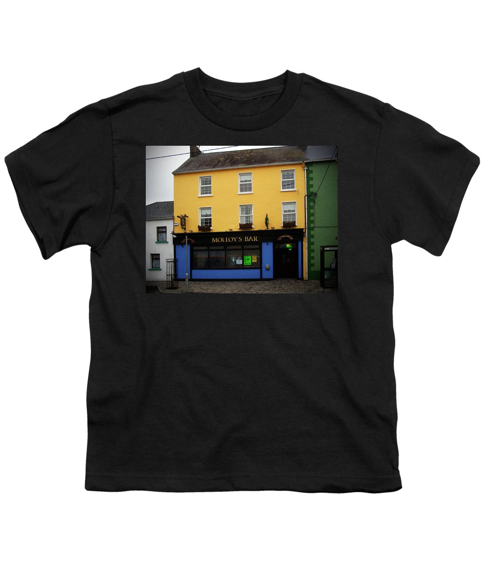 Pub Youth T-Shirt featuring the photograph Molloy by Tim Nyberg