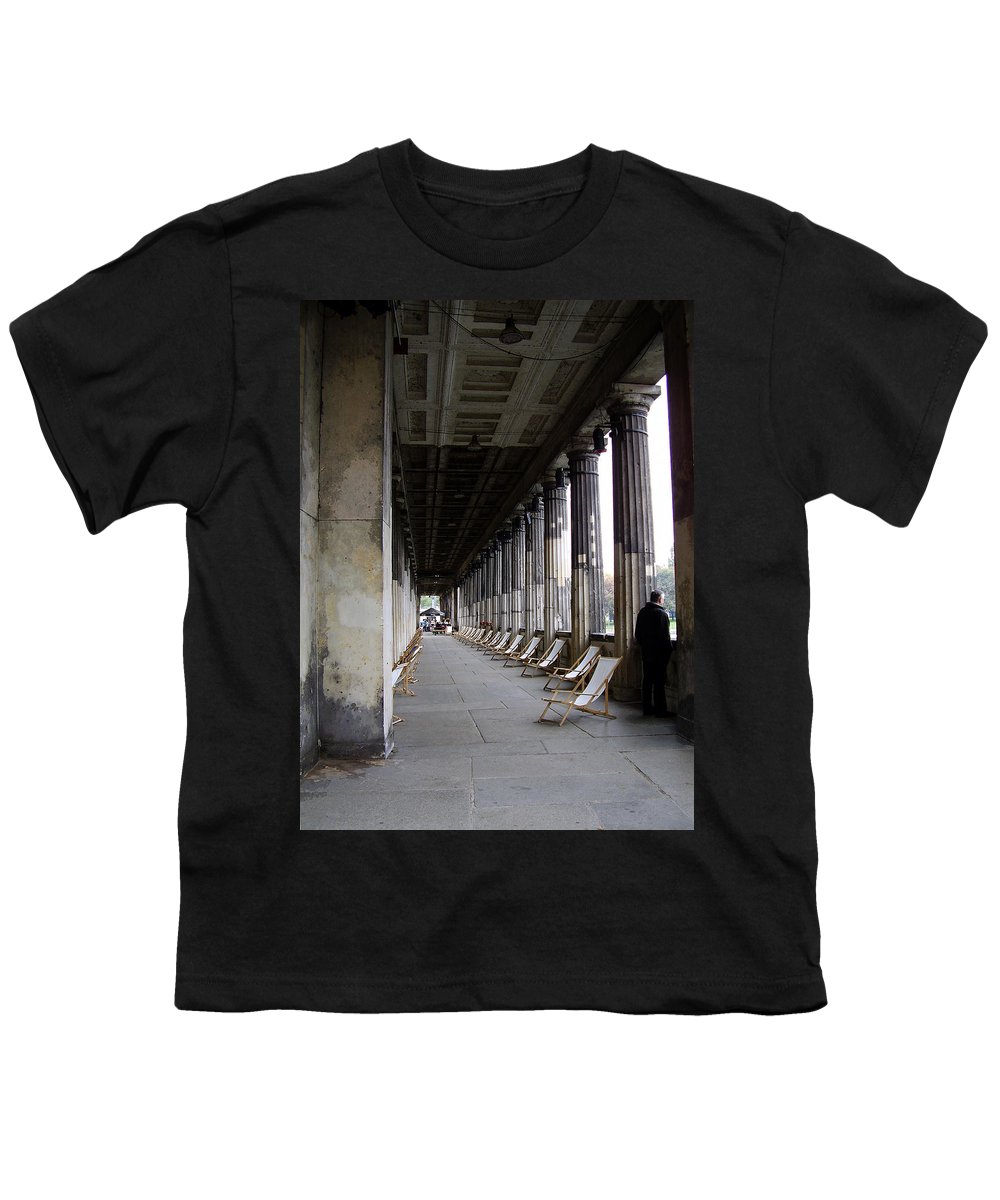 Museumsinsel Youth T-Shirt featuring the photograph Museumsinsel by Flavia Westerwelle