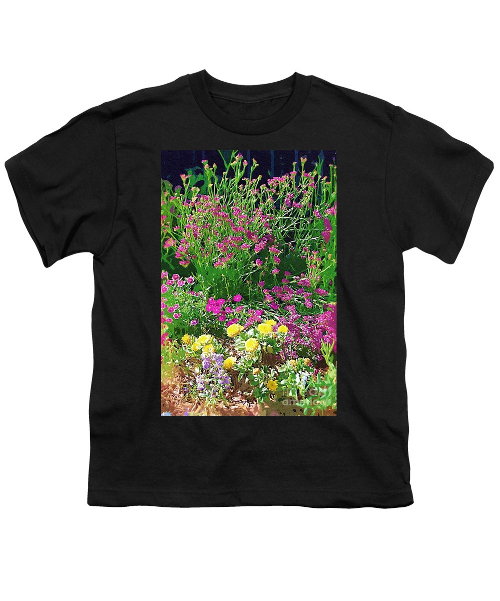 Gardens Youth T-Shirt featuring the photograph My Garden  by Donna Bentley