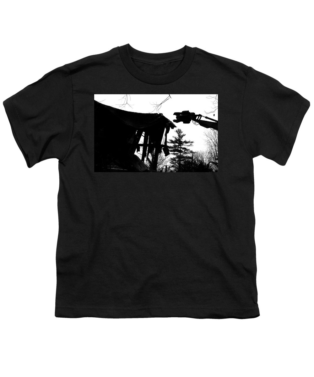 Machine Youth T-Shirt featuring the photograph Nessie by Jean Macaluso