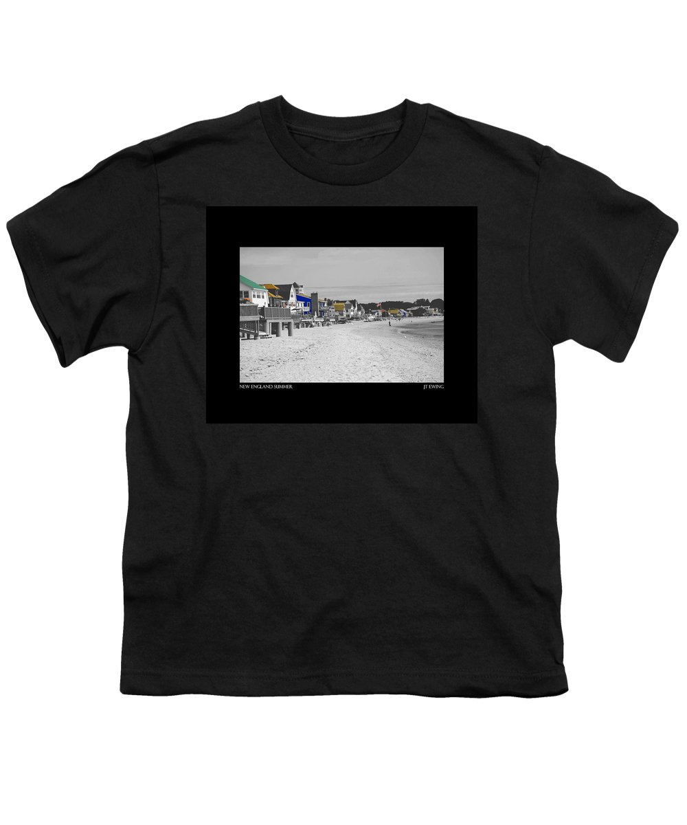 Summer Youth T-Shirt featuring the photograph New England Summer by J Todd