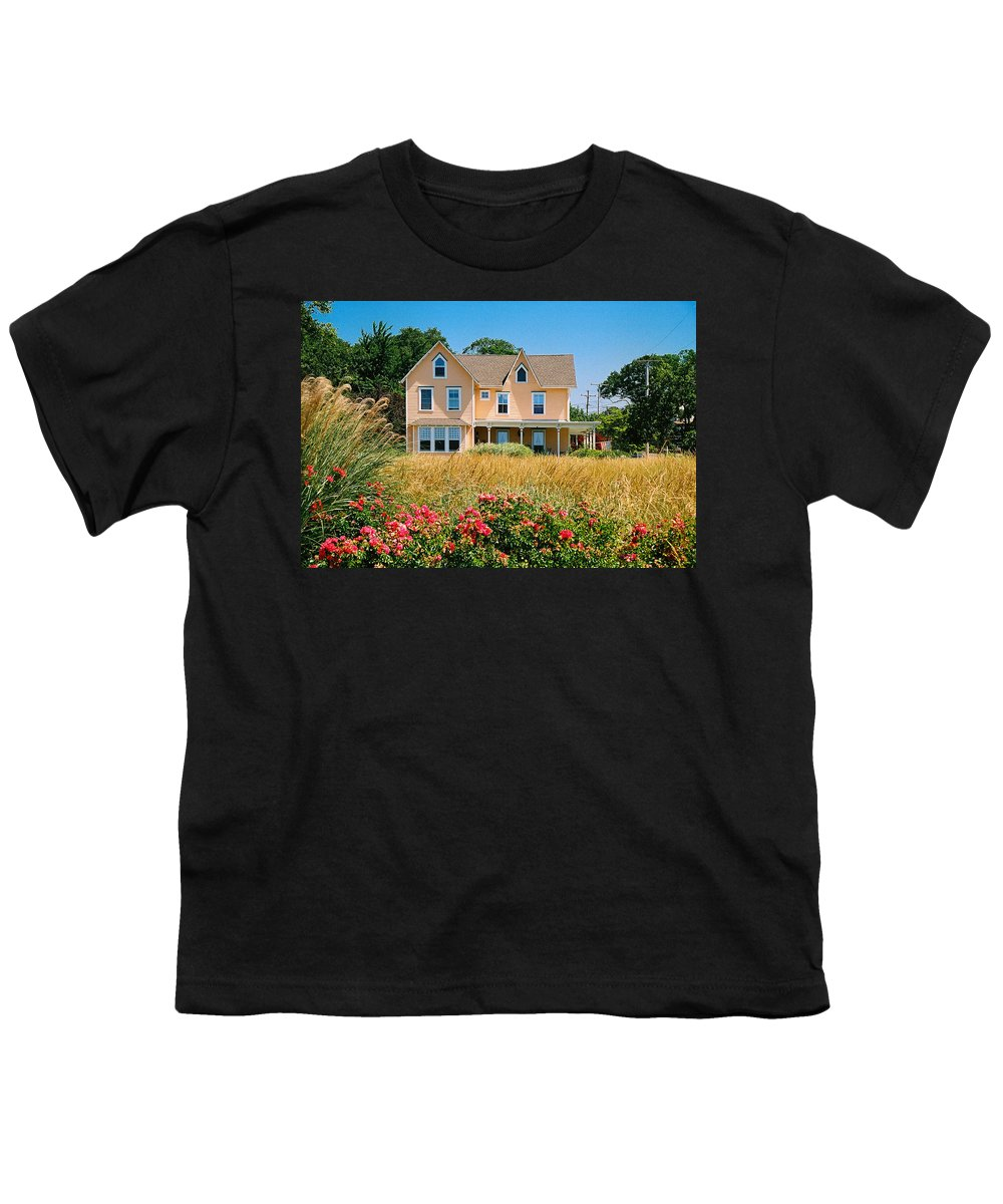 Landscape Youth T-Shirt featuring the photograph New Jersey Landscape by Steve Karol