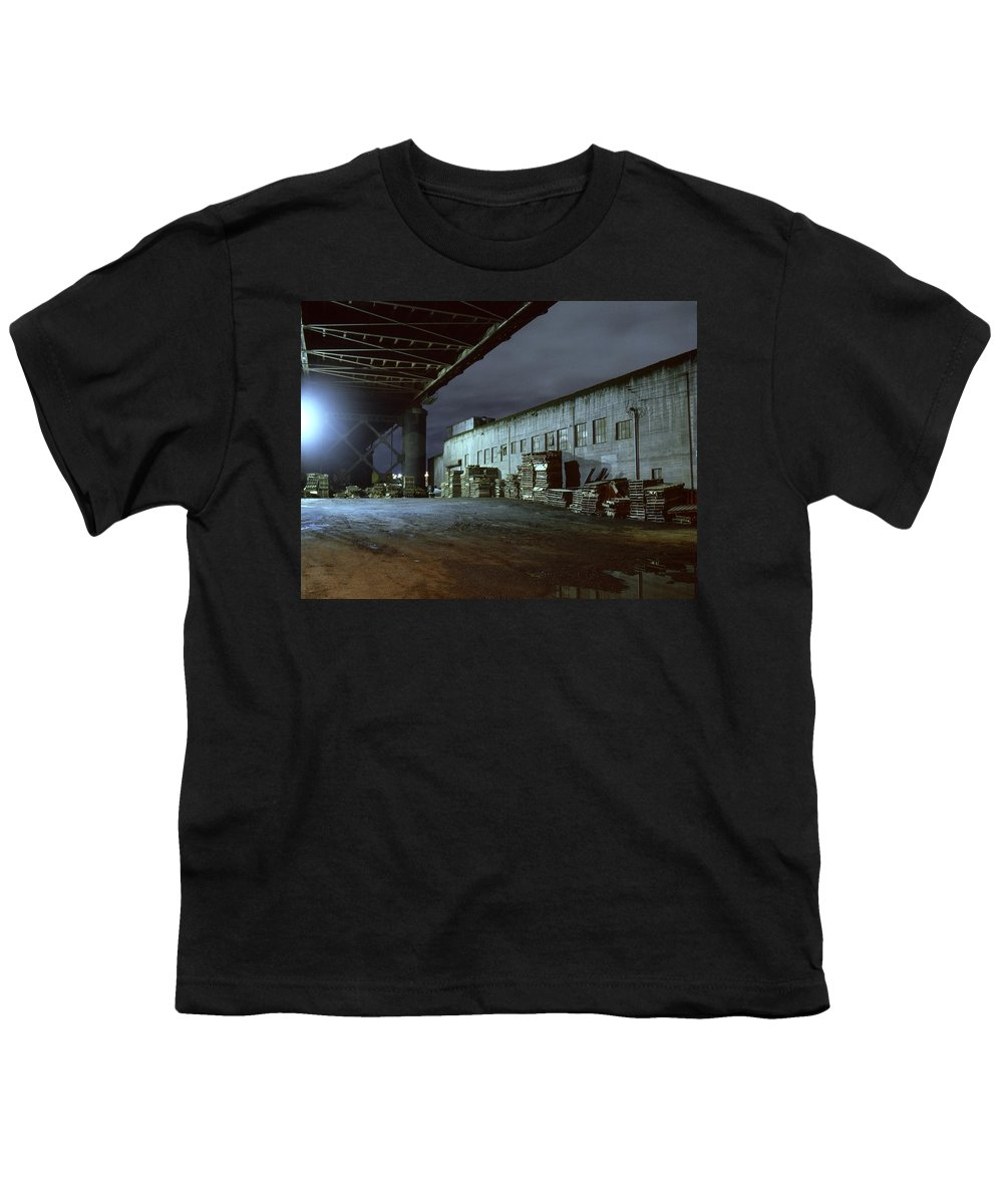 Nightscape Youth T-Shirt featuring the photograph Nightscape 1 by Lee Santa