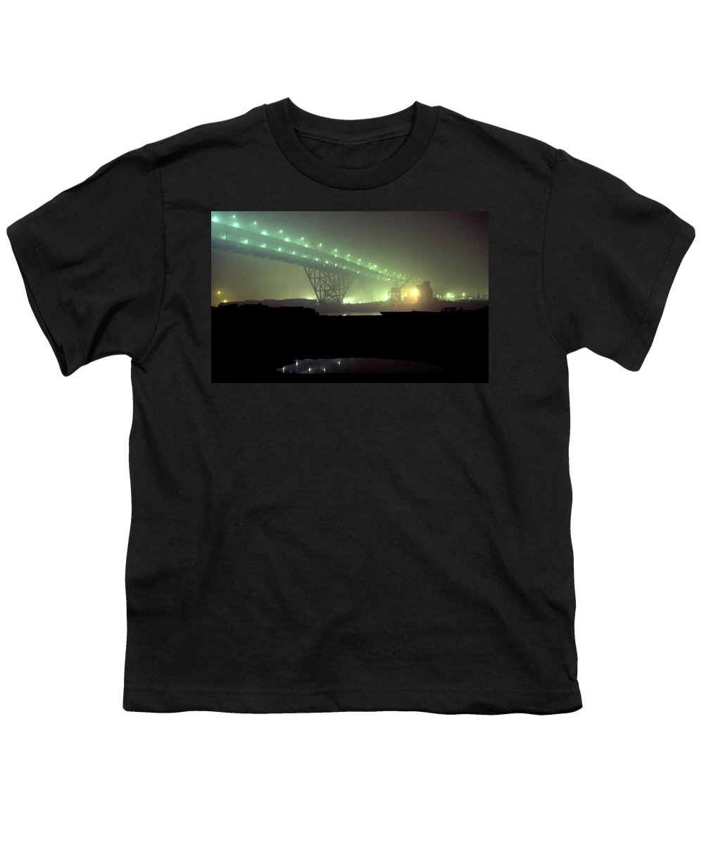 Night Photo Youth T-Shirt featuring the photograph Nightscape 3 by Lee Santa