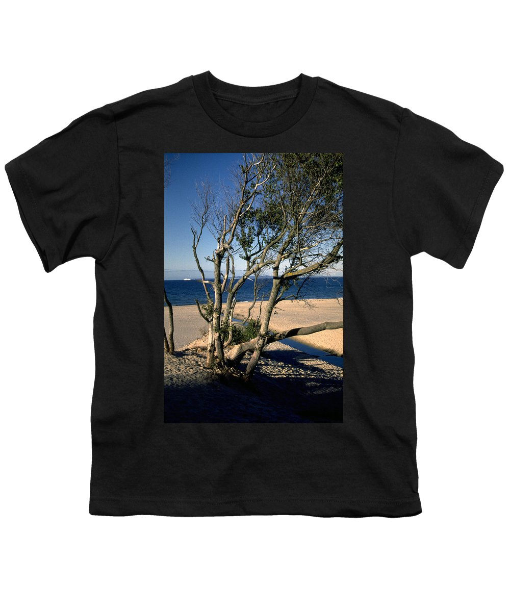 Denmark Youth T-Shirt featuring the photograph Nordic Beach by Flavia Westerwelle