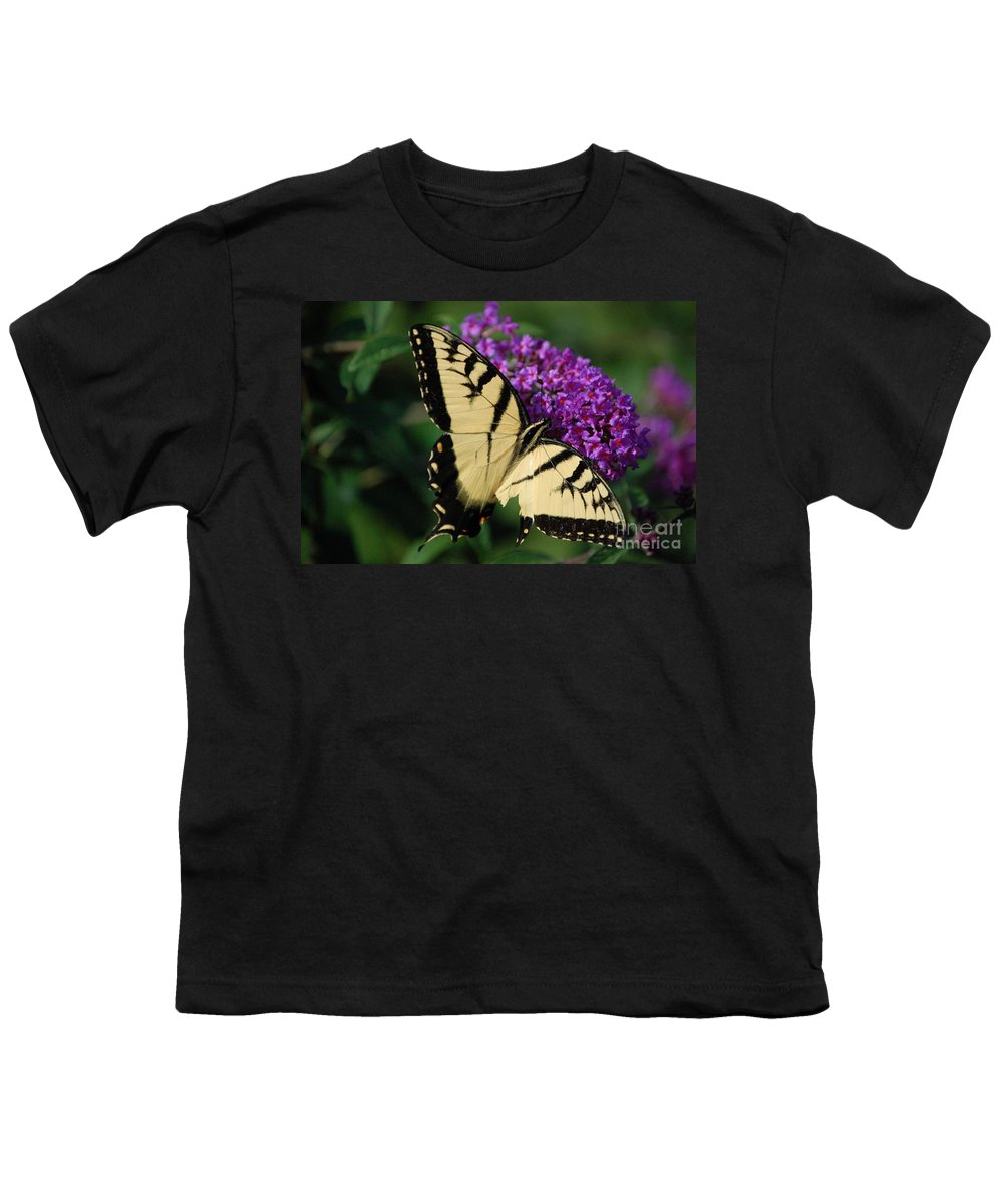 Butterfly Youth T-Shirt featuring the photograph Nothing Is Perfect by Debbi Granruth