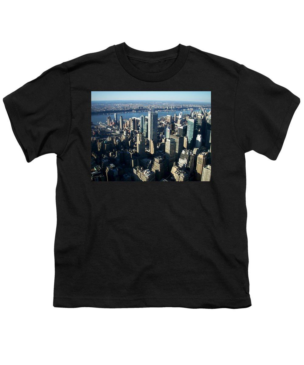 Nyc Youth T-Shirt featuring the photograph Nyc 1 by Anita Burgermeister
