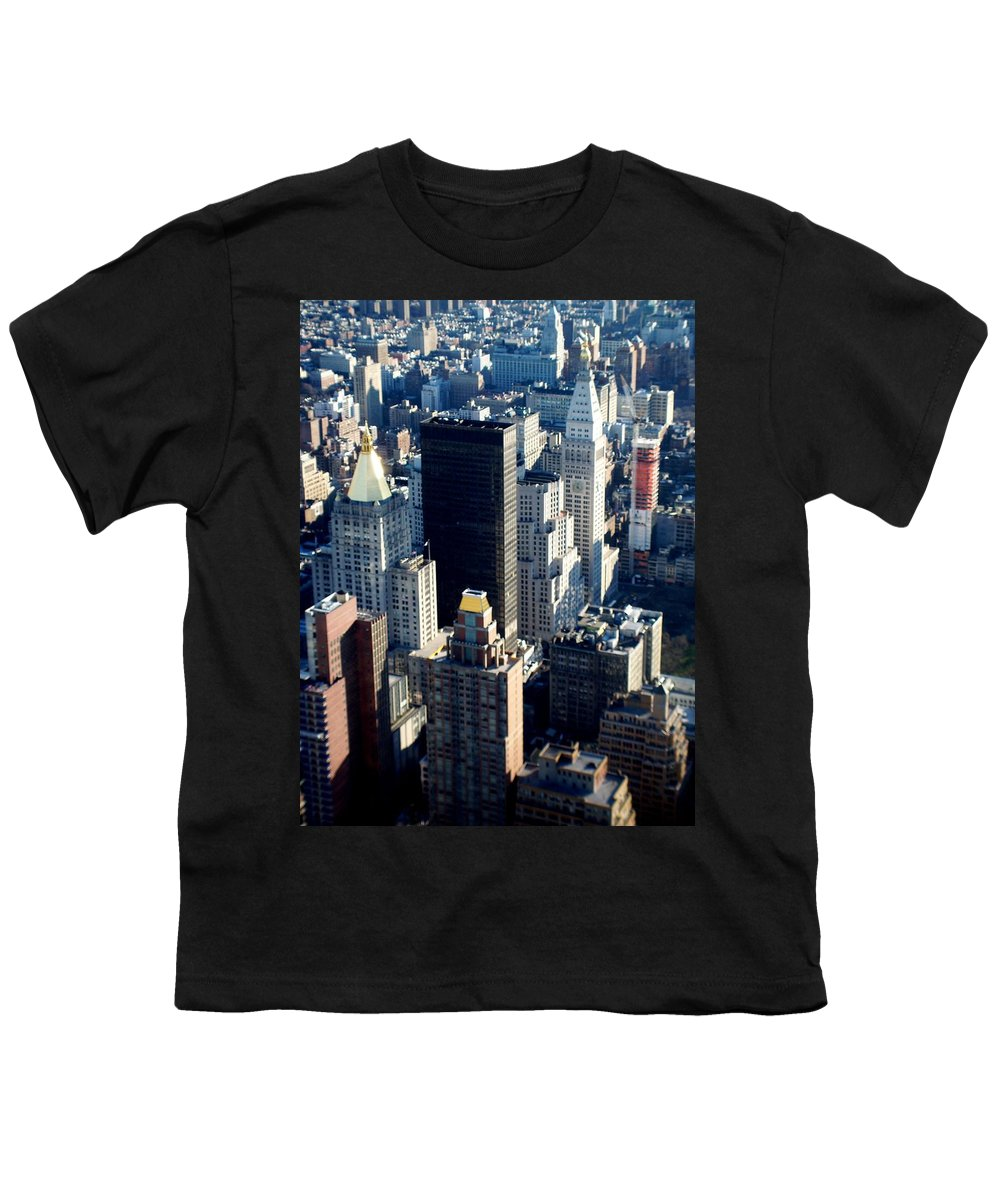 Nyc Youth T-Shirt featuring the photograph Nyc 2 by Anita Burgermeister