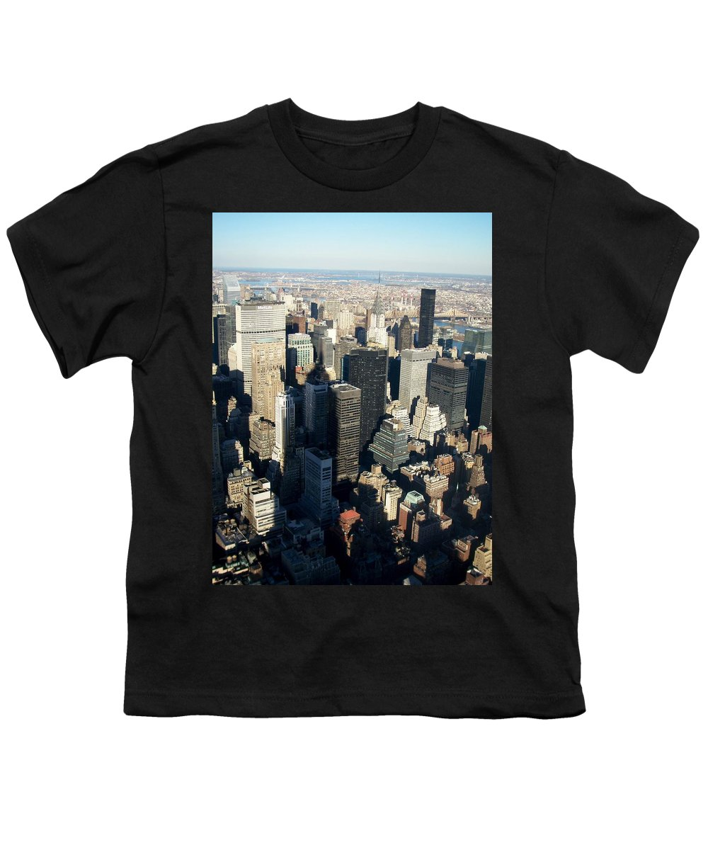 Nyc Youth T-Shirt featuring the photograph Nyc 3 by Anita Burgermeister