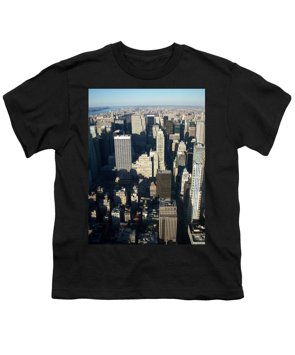 Nyc Youth T-Shirt featuring the photograph Nyc 5 by Anita Burgermeister