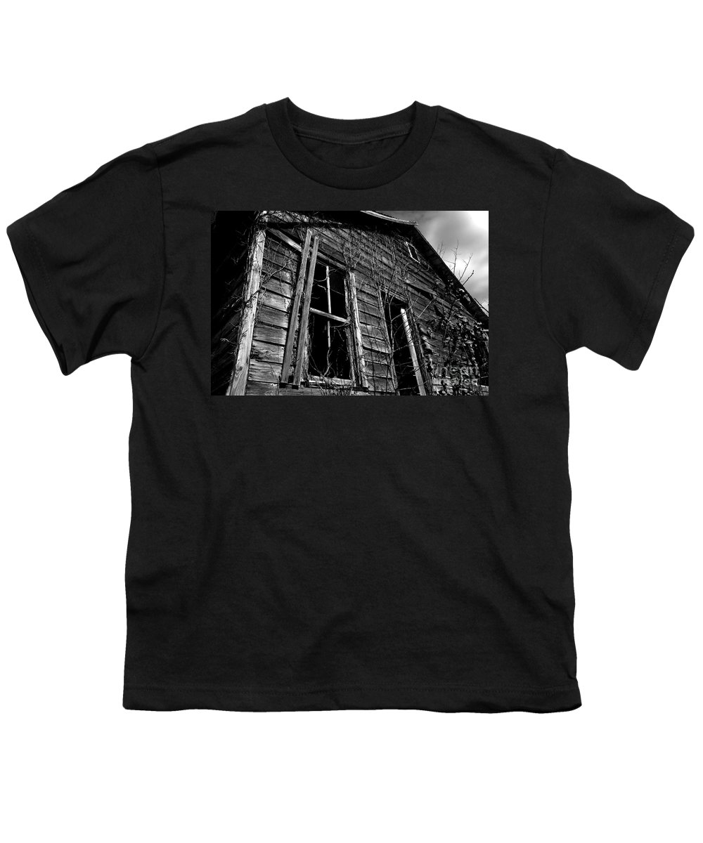 old House Youth T-Shirt featuring the photograph Old House by Amanda Barcon
