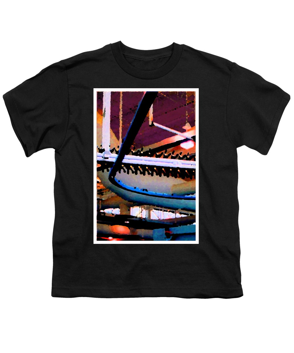 Abstract Youth T-Shirt featuring the photograph Panel Three From Star Factory by Steve Karol