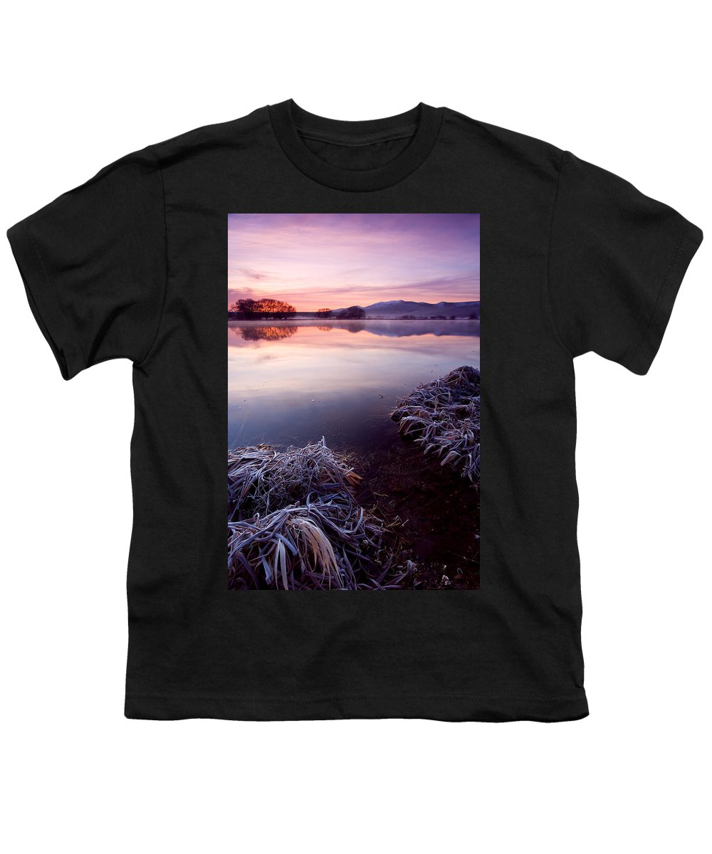 Lake Youth T-Shirt featuring the photograph Pastel Dawn by Mike Dawson
