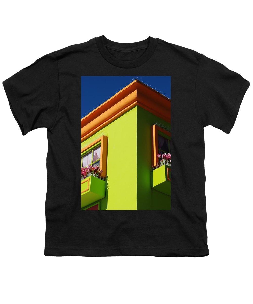 Sky Youth T-Shirt featuring the photograph Pastle Corners by Rob Hans