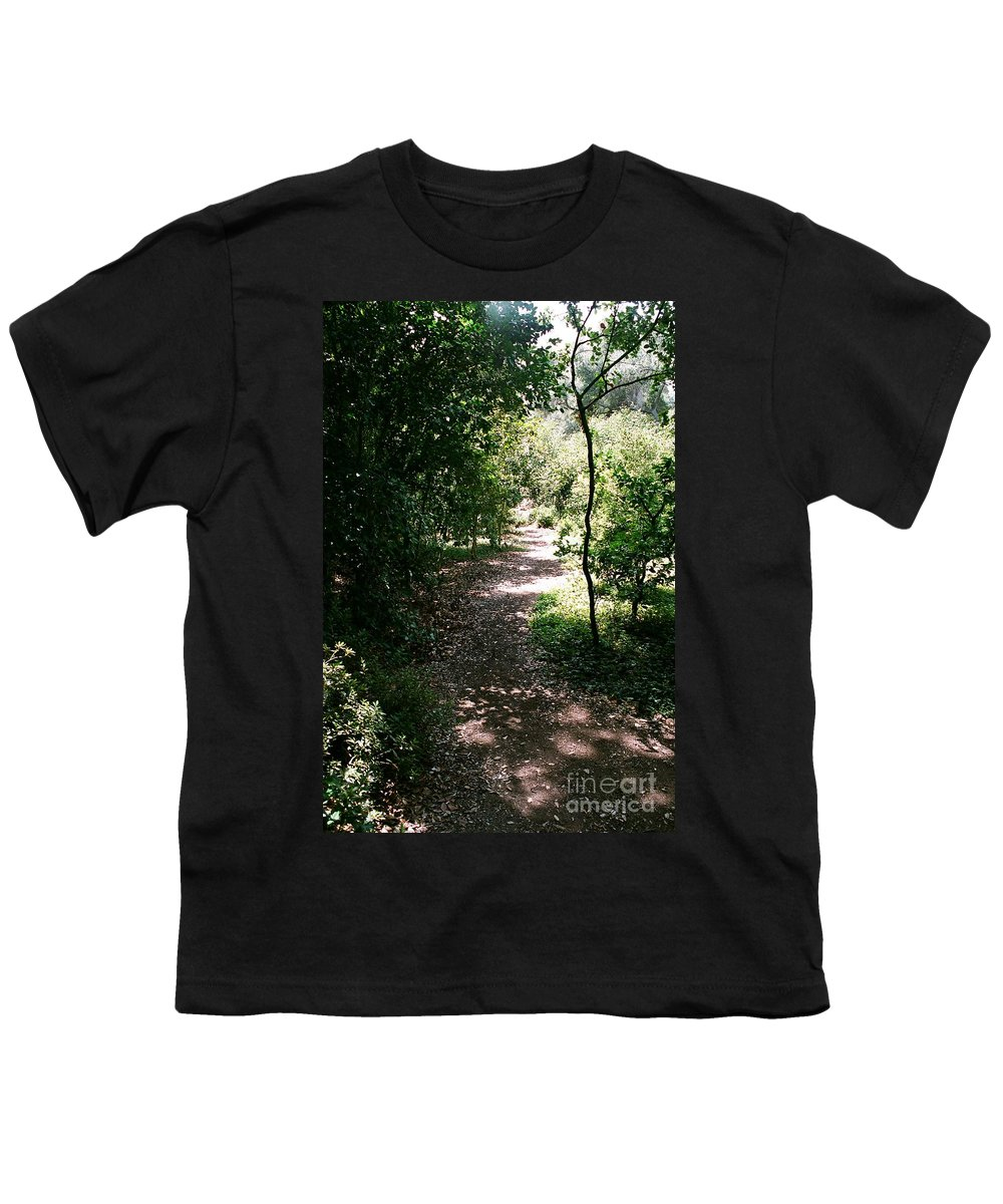 Path Youth T-Shirt featuring the photograph Path by Dean Triolo