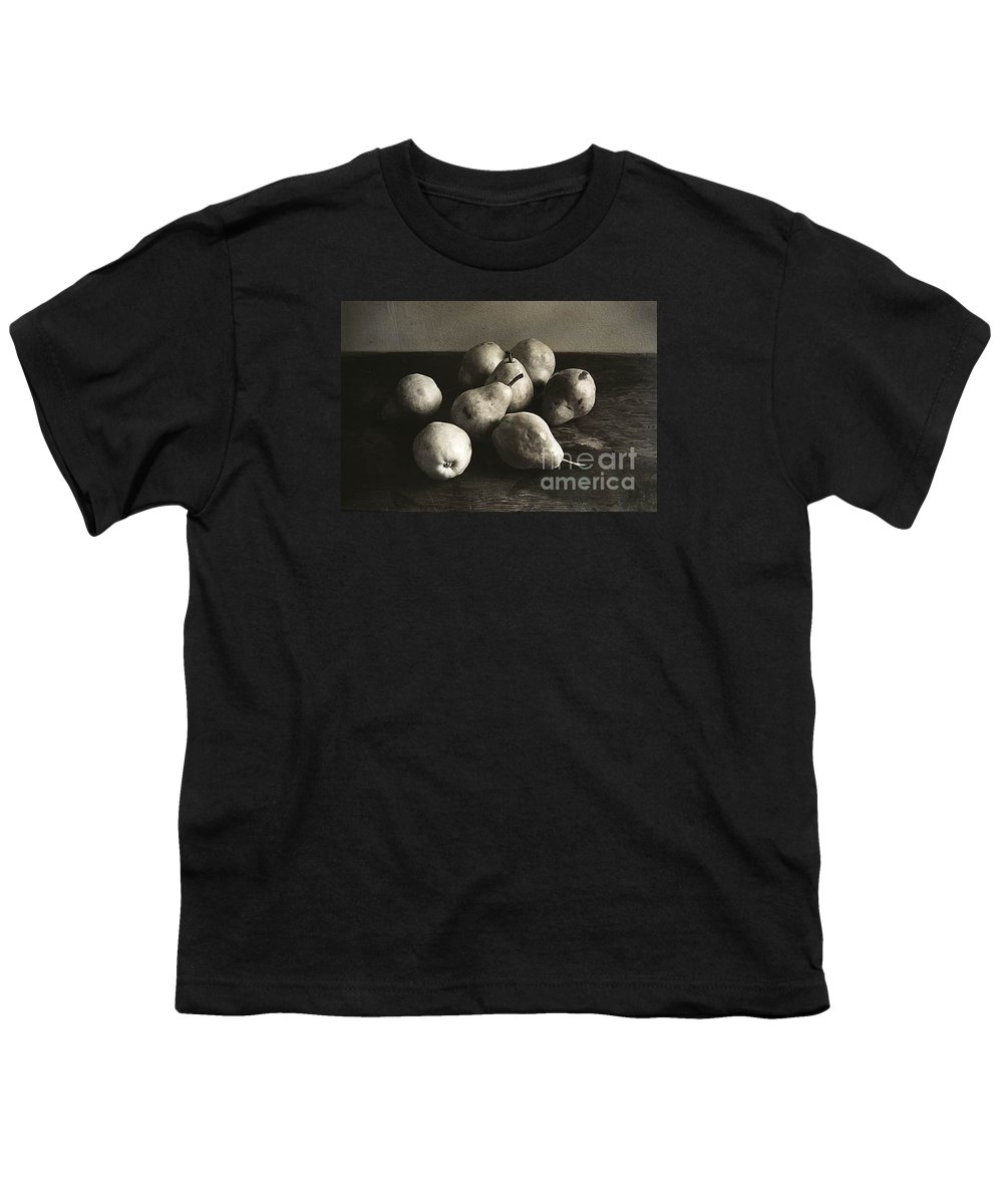 Pears Youth T-Shirt featuring the photograph Pears by Michael Ziegler