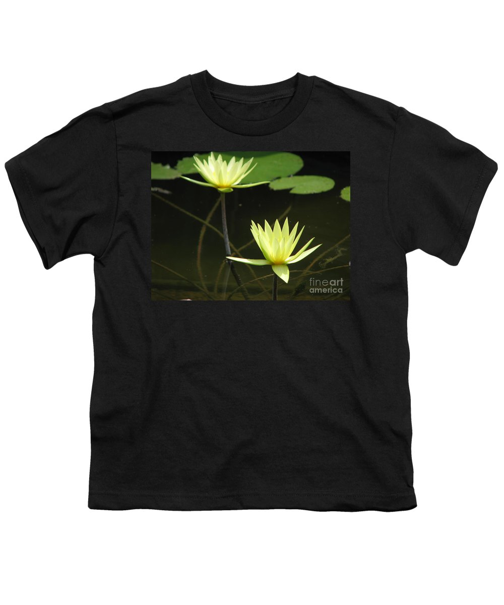 Pond Youth T-Shirt featuring the photograph Pond by Amanda Barcon