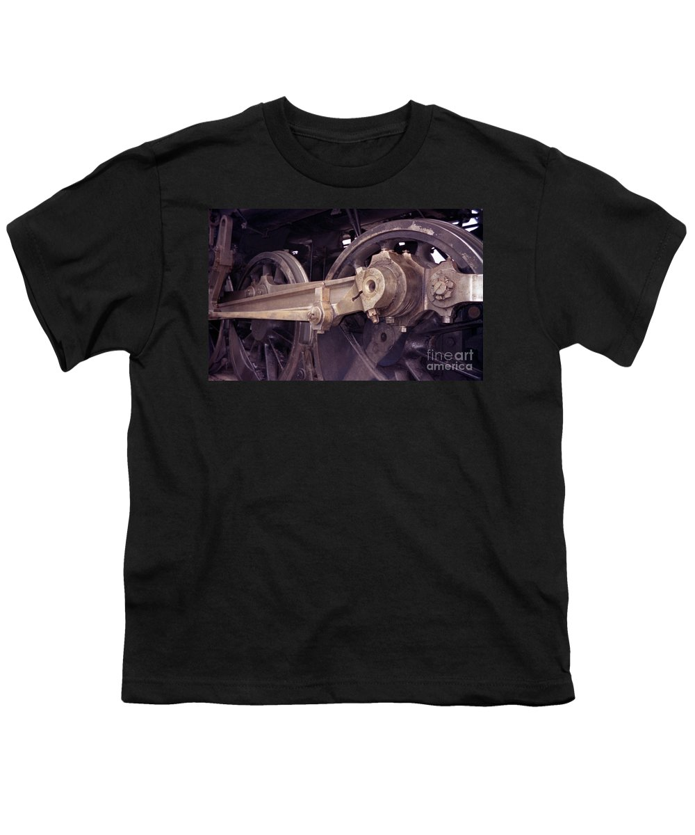 Trains Youth T-Shirt featuring the photograph Power Train by Richard Rizzo